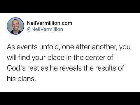 The Good Timing Of My Plans - Daily Prophetic Word