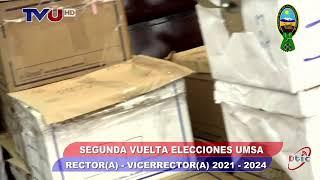 CONTEO DE VOTOS SEGUNDA VUELTA