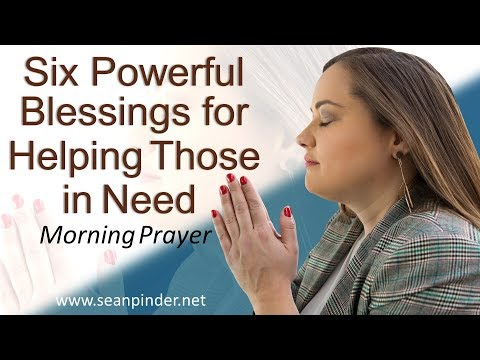 PSALM 41 - SIX POWERFUL BLESSINGS FOR HELPING THOSE IN NEED - MORNING PRAYER  PASTOR SEAN PINDER