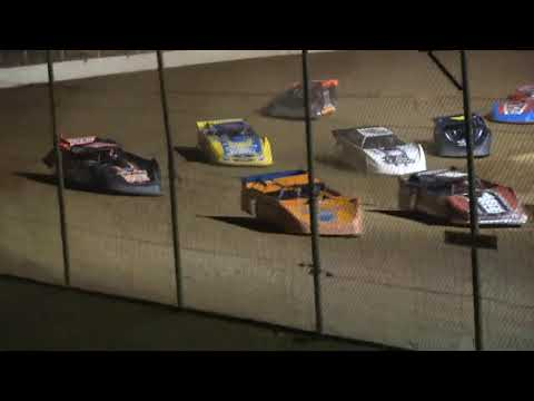 Limited Late Model A-Main from Portsmouth Raceway Park, June 26th, 2021. - dirt track racing video image