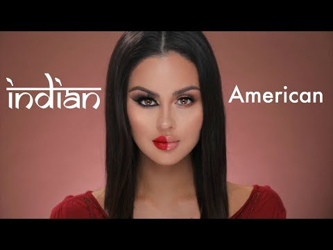 American VS Indian Makeup Tutorial - UCXTAdFsBmxNK3_c8MUvSviQ