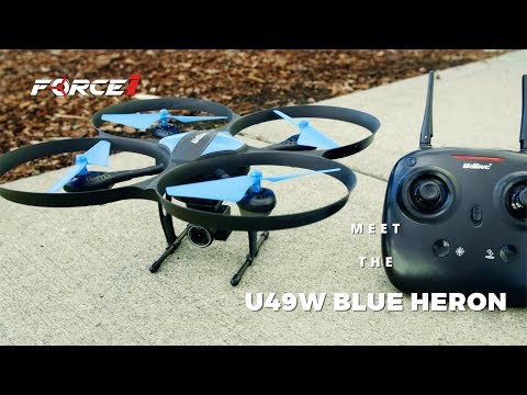 Blue Heron Wi-Fi FPV HD Camera Drone | Beginner RC U49WF Quadcopter - UCmE0ZmhYoDwZX3Aj5oMVkeQ