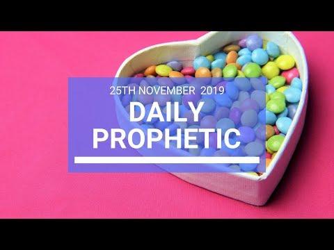 Daily Prophetic 25 November Word 2