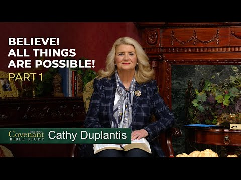 Voice of the Covenant Bible Study Part 5  Cathy Duplantis
