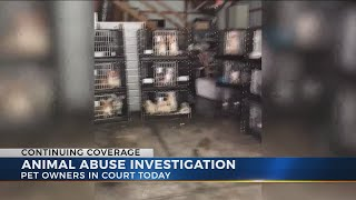 Grove City couple facing dozens of animal cruelty charges