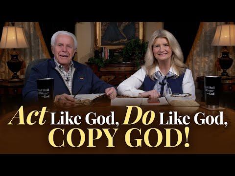 Boardroom Chat: Act like God, Do Like God, Copy God!  Jesse & Cathy Duplantis