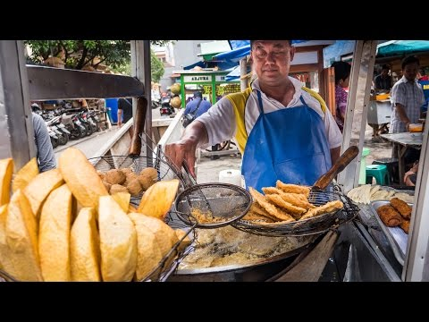 Indonesian Street Food Tour of Glodok (Chinatown) in Jakarta - DELICIOUS Indonesia Food! - default