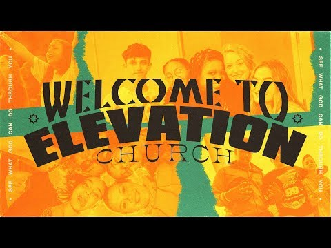 Join us LIVE at Elevation Church for todays worship experience!