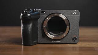 Sony Alpha FX3 tělo - Full Frame Cinema Line kamera