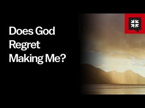 Does God Regret Making Me? // Ask Pastor John