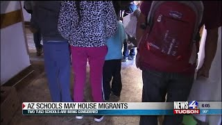 TUSD considering former school district to house migrants