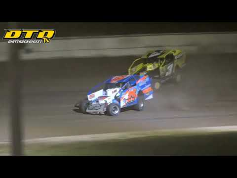 Ransomville Speedway | DIRTcar 358-Modified Feature Highlights | 8/20/21 - dirt track racing video image
