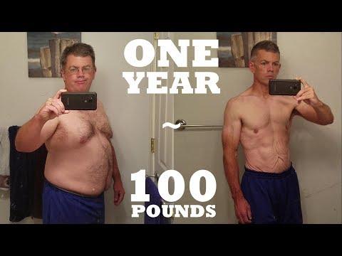 1 Year 100 lb Weight Loss - Mind & Body Transformation - UC6OWdkXkxJZYDuIKiXdI0iA