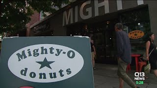 Mighty-O donuts raises money for Oso Landslide Memorial