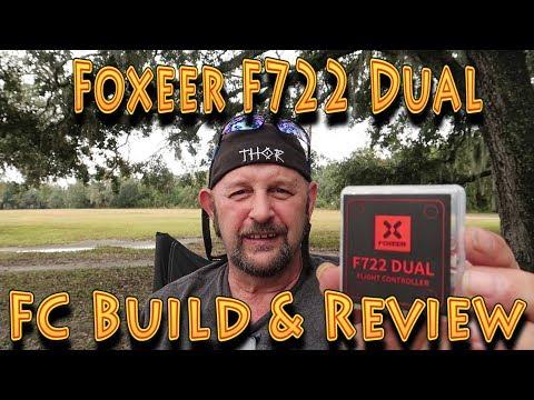 Foxeer F722 Dual Gyro Flight Controller Build & review!!! (12.18.2018) - UC18kdQSMwpr81ZYR-QRNiDg