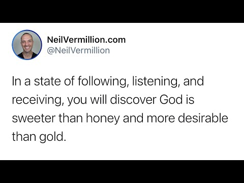 I Am More Desirable Than Gold - Daily Prophetic Word