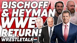 Seth Rollins Twitter MELTDOWN?! Bischoff and Heyman Return To WWE! | Wrestletalk's Screengrapple