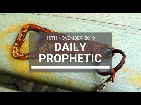 Daily Prophetic 10 November Word 7
