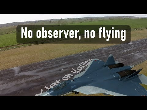 """Regulations say """"no RC plane flying for me today"""" - UCQ2sg7vS7JkxKwtZuFZzn-g"""