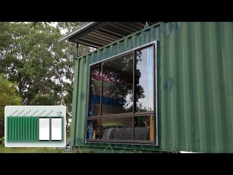 Tiny Yellow House Shipping Container House Surf Shack Impresspages Lt