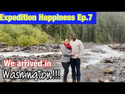 Expedition Happiness: Arriving in Washington State | Joint Base Lewis McChord |Dity PCS move to JBLM