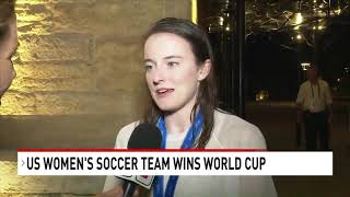 A spectator 4 years ago, Spirit's Rose Lavelle stars to help U.S. win its 4th World Cup