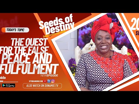 Dr Becky Paul-Enenche - SEEDS OF DESTINY - SUNDAY SEPTEMBER 20, 2020