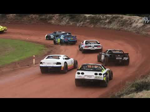 Saloons Taipa Speedway 2021 - dirt track racing video image