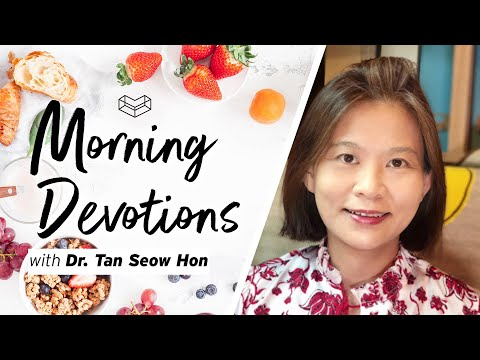 Future-Proofing Our Lives?  Devotion  Tan Seow Hon  Cornerstone Community Church  CSCC Online