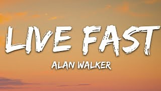 Alan Walker x A$AP Rocky - Live Fast (Lyrics / Lyric Video) PUBGM