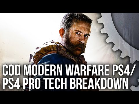 Call of Duty Modern Warfare: Deep-Dive Tech Breakdown + PS4 vs PS4 Pro Campaign Mode Tested!