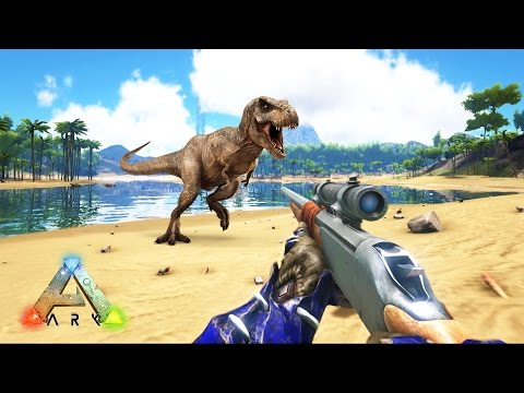 ARK: Survival Evolved - SNIPER RIFLE HUNTING DINOSAURS! (ARK: Survival Evolved Gameplay) - UC2wKfjlioOCLP4xQMOWNcgg