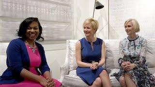 Kerrie Kelly, Jill Williams and Erika Ward, Designer Shorts, April 2017 High Point Market
