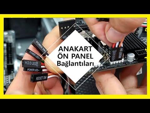 Anakarta Kasa Ön Panel Kablo Bağlantıları Nasıl Yapılır?