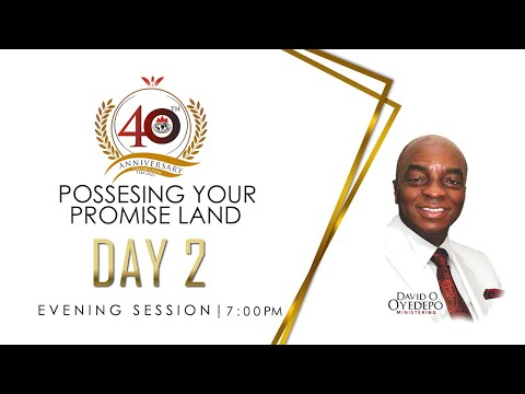 DOMI STREAM: DAY 2  40TH ANNIVERSARY PROPHETIC FEAST  EVENING SESSION  3, MAY 2021.