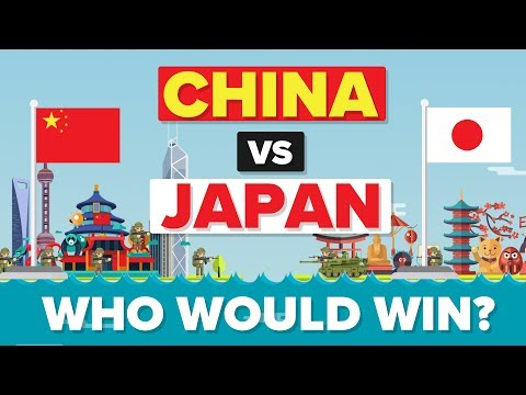 China vs Japan 2017 - Who Would Win - Army / Military Comparison - UCfdNM3NAhaBOXCafH7krzrA