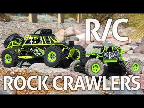 RC Rock Crawlers! WLtoys & JJRC - REVIEW - UCgyvzxg11MtNDfgDQKqlPvQ