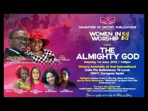 Women in Worship 2019 Invitation