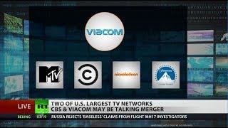 CBS, Viacom discuss multibillion-dollar merger