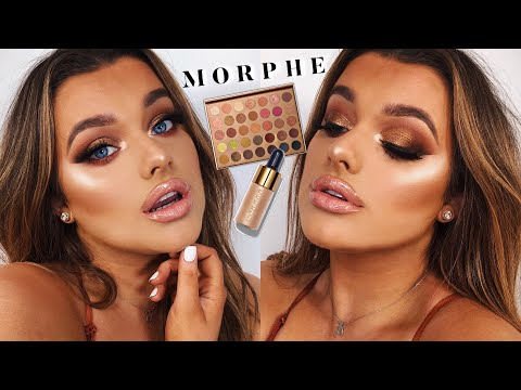 MORPHE BRONZE GOALS TUTORIAL... bishhh if this aint ME in a palette   | Rachel Leary - UC-Um2u0Agv8Q-OhjO6FZk1g