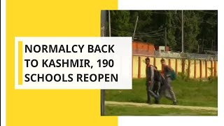 WION Dispatch: Classes resumes in nearly 190 Kashmir school; Here's ground report