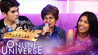 TNT3 defending champion Virginia Salazar gets support from her mother | Showtime Online Universe