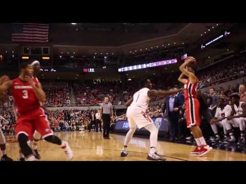 Auburn vs. Georgia Basketball 2016