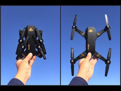 Visuo Drone Tianqu xs809w Foldable RC Quadcopter - UC9l2p3EeqAQxO0e-NaZPCpA