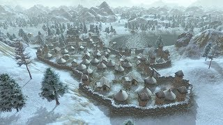 Battle for Survival in Winter Blizzards | Dawn of Man | Ep. 05 | City Building Warfare Gameplay