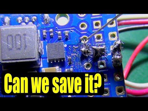 Fixing bad soldering