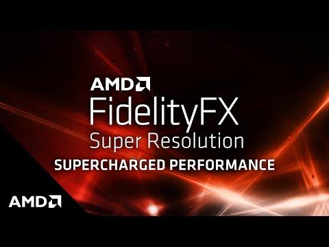 AMD den Ekran Kartlarına  DLSS Rakibi FidelityFX Super Teknolojisi