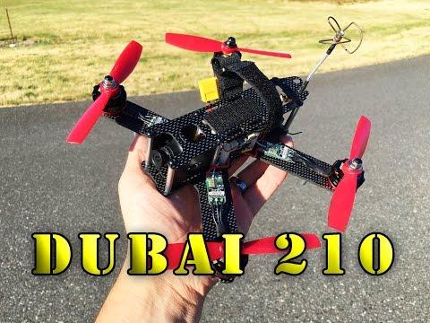 Dubai 210 FPV Racing Quadcopter Review Pt:2 - UCLqx43LM26ksQ_THrEZ7AcQ