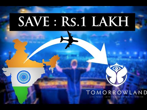 India To TOMORROWLAND | Cheapest Budget | Full Info | Lets Travel - UC7P8L5C8MSXFUnHa12LqI2A