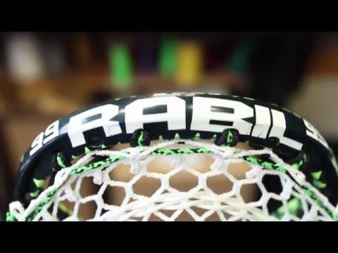 Rabil's Custom Dyed Lacrosse Head